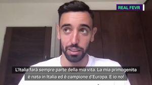 Bruno Fernandes e l'Italia:
