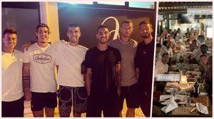 La Roma fa gruppo: cena tra giocatori, Mourinho allenta la sorveglianza