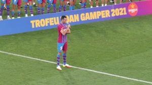 Busquets, tributo da brividi a Messi: