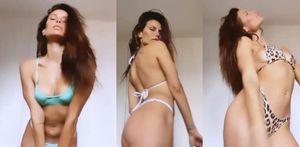 Dayane Mello, il cambio bikini si fa bollente