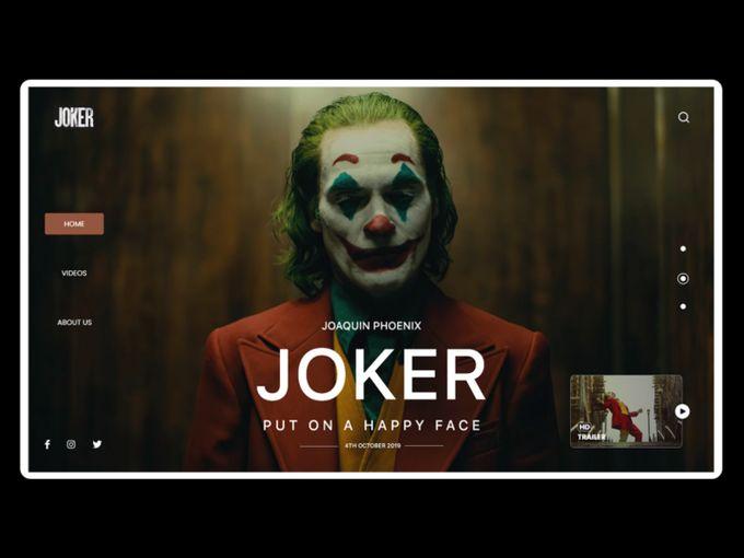 《Joker》─  黑暗的童話