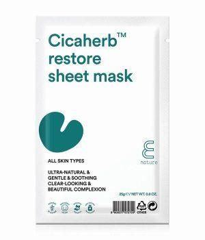 E Nature Cicaherb Restore Tuchmaske 10 Stk