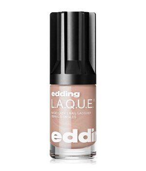 edding L.A.Q.U.E. e-80 LAQUE soft seashell Nagellack 8 ml