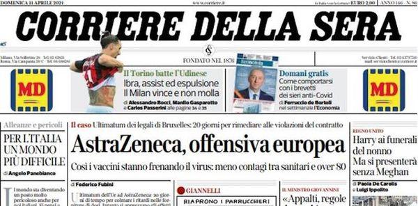 La campagna vaccinale, il processo a Matteo Salvini per il caso Gregoretti, e la nuova giornata di Serie A