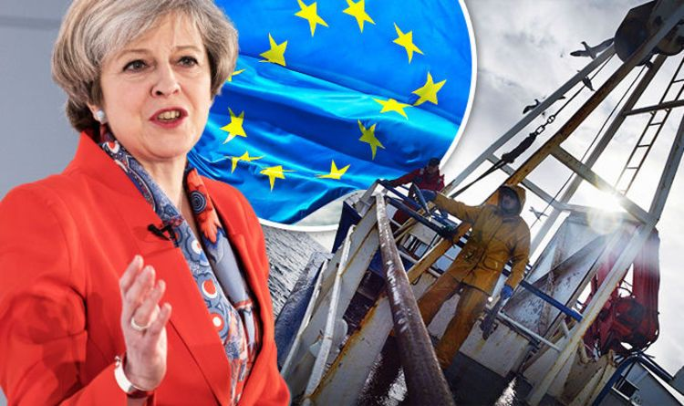 Return our waters! Fishermen rejoice as May hints she will BAN EU boats from British seas