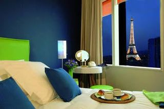Lastminute stedentrips Parijs in hotel 2P4 - Tour Eiffel