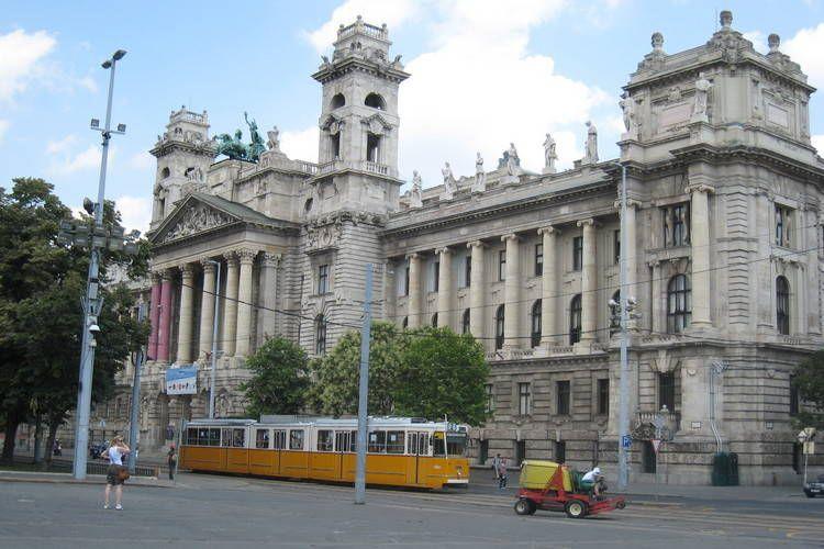 Andrassy's Corner in Boedapest Budapest HU, Hongarije