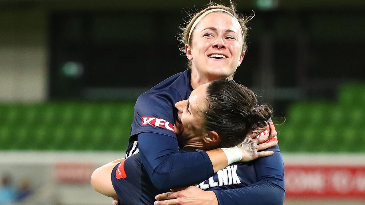 Star import Christine Nairn is powering Melbourne Victory's W-League transformationの代表サムネイル