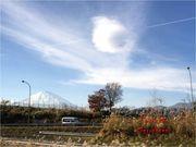 [追蹤富士山]4~日本新聞也有報道的奇怪雲球