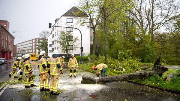 Wetter in Deutschland: Tief »Eugen« wütet mit Sturmböen in Teilen des Landes