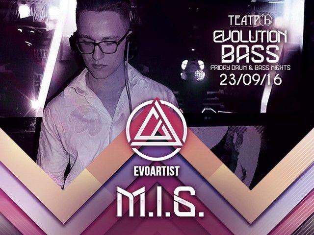DJ M.I.G. - LIVE from EVOLUTION BASS 23.09.16