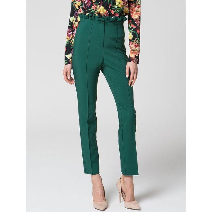 Ψηλομεσο πράσινο παντελόνι