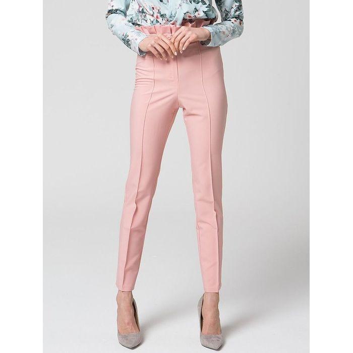 Ψηλόμεσο ροζ παντελόνι