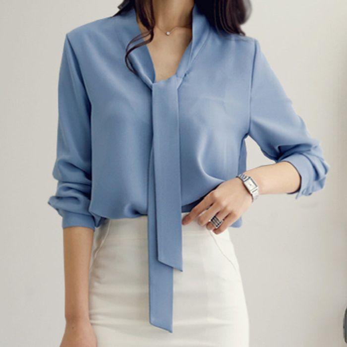 Γαλάζια μπλούζα JEAN BLUE