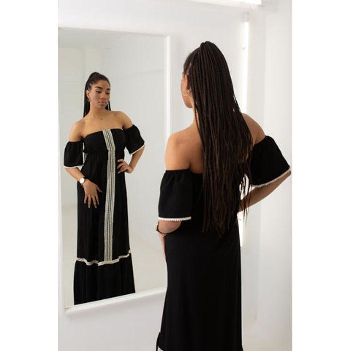 Φόρεμα maxi strapless