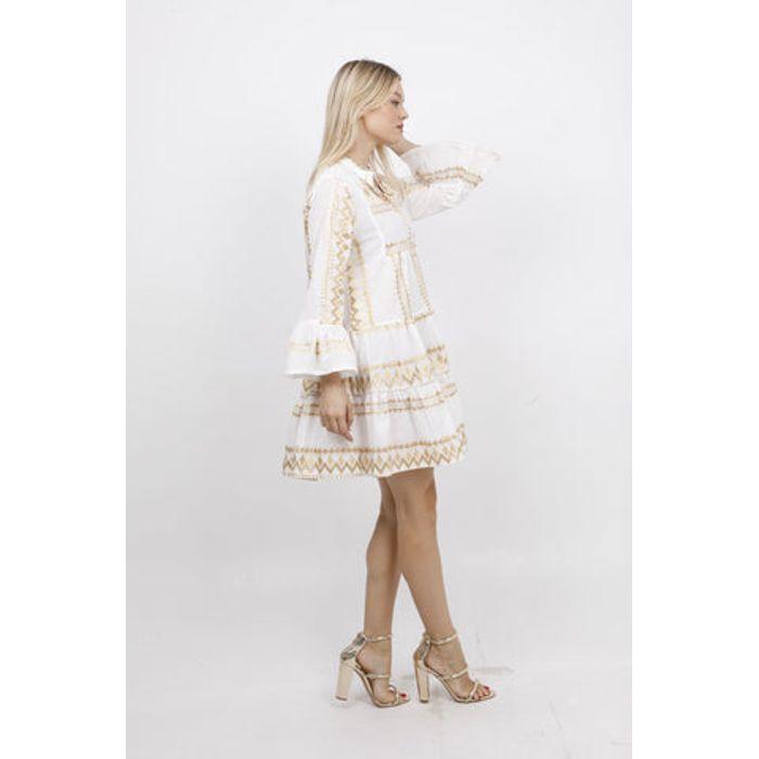 Φόρεμα mini με κέντημα