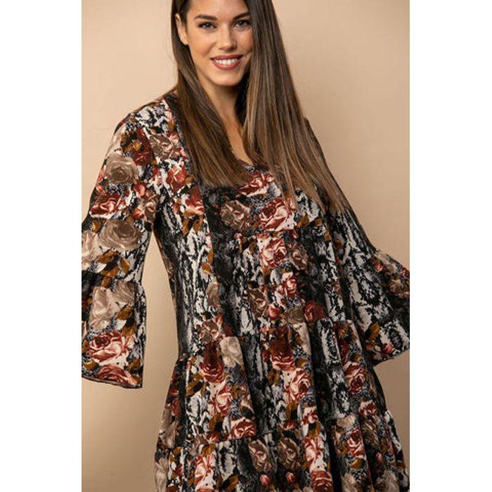 Φόρεμα mini εμπριμέ