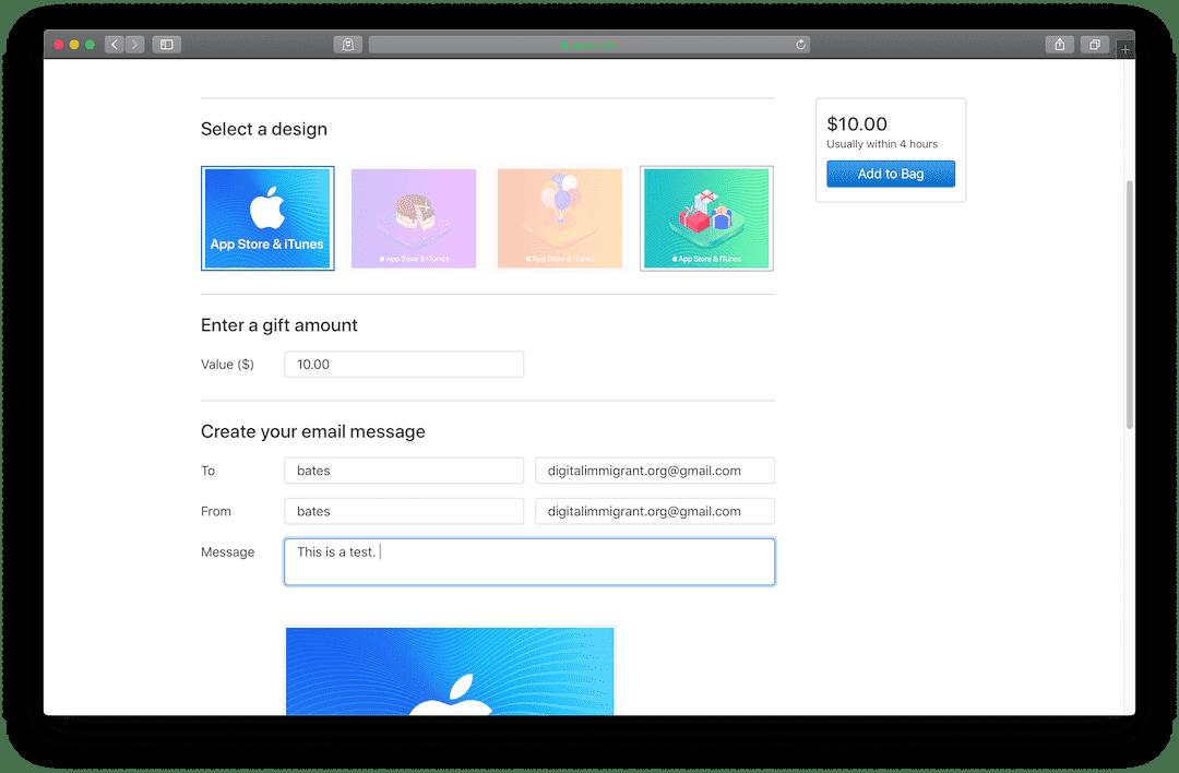 美区 Apple ID 官方充值渠道汇总