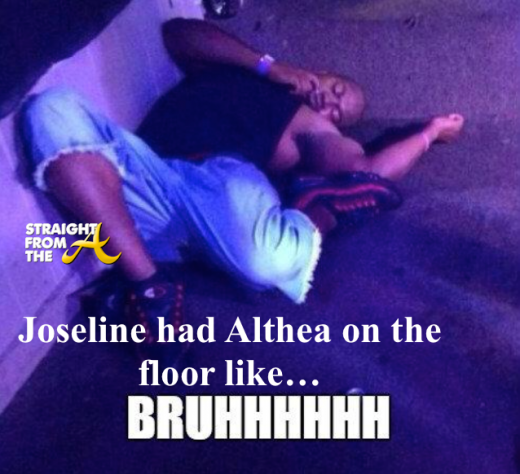 Joseline Althea Fight - StraightFromTheA