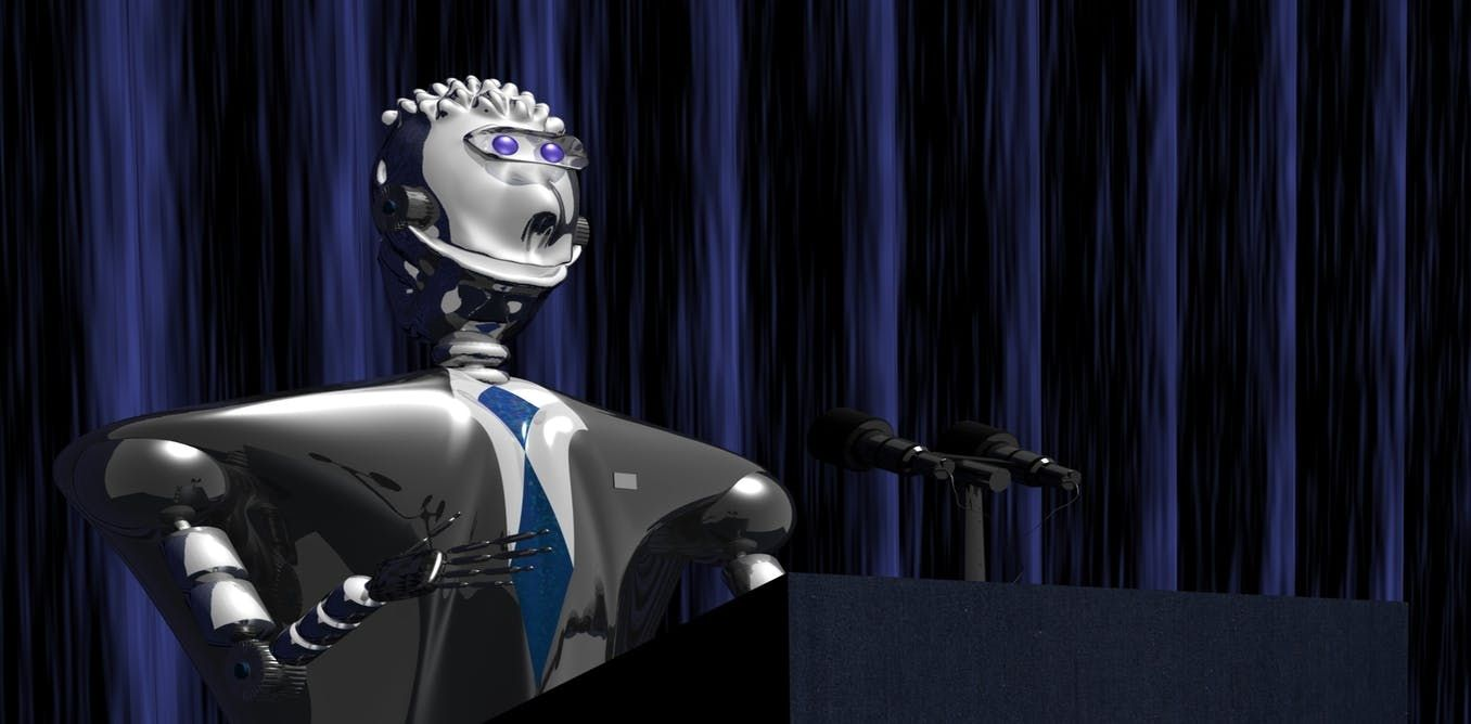 Can we replace politicians with robots?