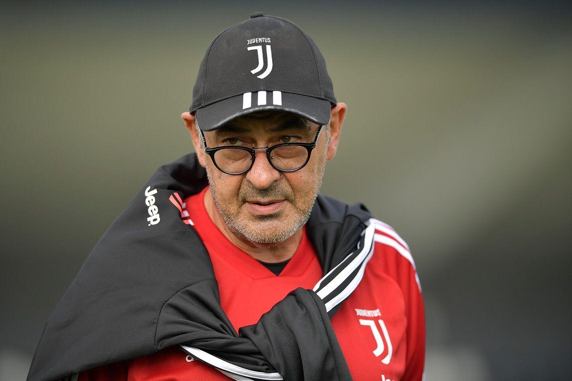 Juve Sarri è alla Continassa lunedì allenamenti con squadra