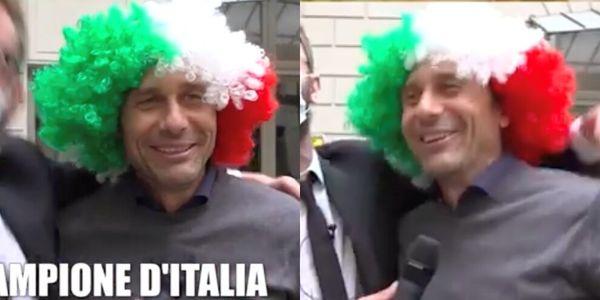 Conte e la parrucca tricolore: che show con le Iene!