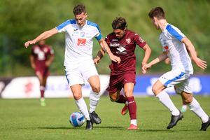 Il Torino batte il Brixen 5-1: in gol Verdi, Baselli e Zaza
