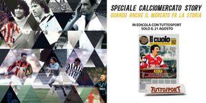 """""""Calciomercato Story"""": l'ultimo volume in edicola il 21 agosto"""