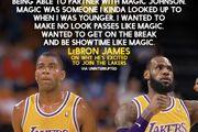 [籃球場]如果LBJ來當魔術師,誰是他的James Worthy呢?