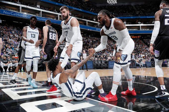 狂搶60籃板達5連勝卡位西區前8,新灰熊三少請長期留隊因爲我們想看你們完成雷霆三少的遺憾