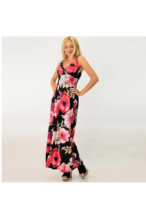 Φλοράλ φόρεμα μακρύ