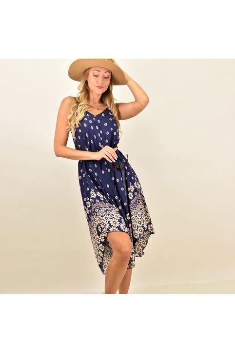 Γυναικέιο φόρεμα κοντό φλοράλ