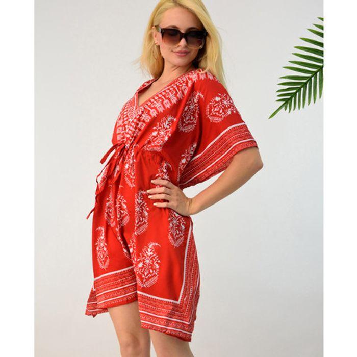 Φόρεμα κιμονό θαλάσσης