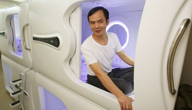 Hong Kong landlord launches 'space capsule' homes for rent