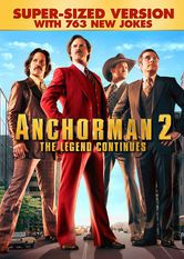 Anchorman 2: The Legend Continues (Super-Sized Version)