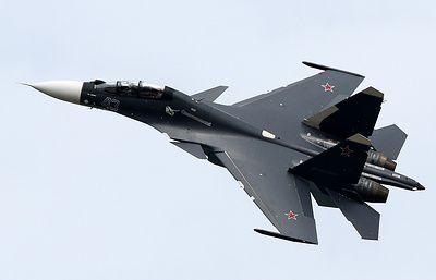 Су-30СМ около 120 раз сопровождали разведывательные полеты у южных границ РФ в этом году