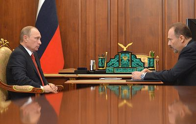 Путин предложил назначить Меня аудитором Счетной палаты