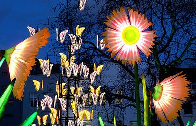 В Лондоне проходит фестиваль света Lumiere