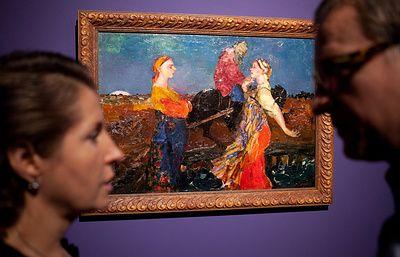 В Нью-Йорке продали с аукциона картины русских художников