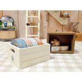 《散步生活雜貨-鄉村散步》日本進口DECOLE-FAVORIA皇冠圖案紙膠帶收納盒-象牙白