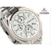 CITIZEN星辰錶ATTESA系列Eco-Drive光動能電波鈦金屬計時手錶生日禮物AT804