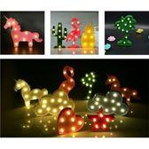【最便宜】現貨;Led造型燈動物造型燈裝飾燈小夜燈多款仙人掌鳳梨雲朵夜燈造型夜燈禮物(169元)