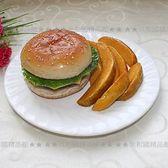 [MOLD-G00326]高仿真食品模型牛肉漢堡模型仿真食物西餐模型櫥