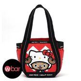 ☆wbar☆日本HelloKitty×喬巴聯名款氣球包托特包手提包手提袋便當包購物包Kitty凱蒂貓航海王