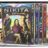 高清DVD專賣店歐美劇歐美劇Nikita尼基塔妮基塔第1-4季12DVD9