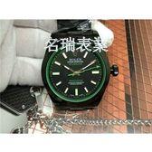 代用勞力士RolexMilgauss116400GVProHunterEdition(綠玻璃)