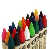 兒童蠟筆無毒可水洗寶寶蠟筆16/24色幼兒大蠟筆防摔畫畫筆