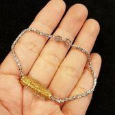 超美閃亮亮純銀手環全長16cm純銀