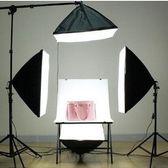 攝影棚套裝補光拍照器材小型LED靜物拍攝臺KM8