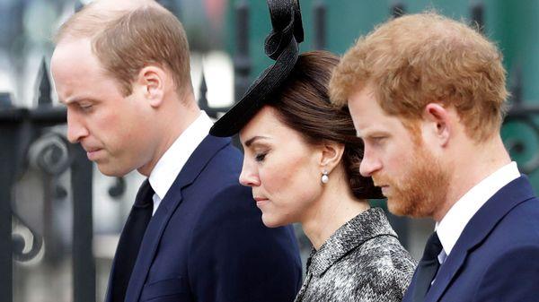 Herzogin Kate soll Prinz William und Prinz Harry helfen, sich zu versöhnen